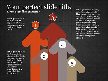 Company Summary Slide Deck, Slide 14, 03975, Process Diagrams — PoweredTemplate.com