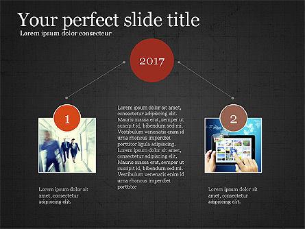 Company Summary Slide Deck, Slide 15, 03975, Process Diagrams — PoweredTemplate.com