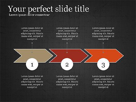 Company Summary Slide Deck, Slide 16, 03975, Process Diagrams — PoweredTemplate.com