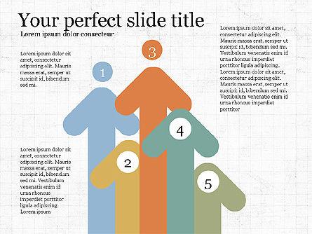 Company Summary Slide Deck, Slide 6, 03975, Process Diagrams — PoweredTemplate.com
