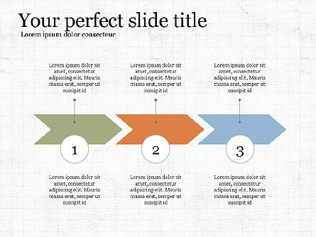 Company Summary Slide Deck, Slide 8, 03975, Process Diagrams — PoweredTemplate.com