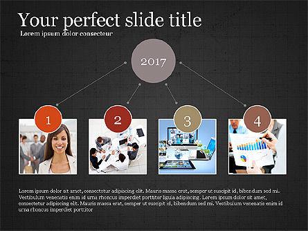 Company Summary Slide Deck, Slide 9, 03975, Process Diagrams — PoweredTemplate.com