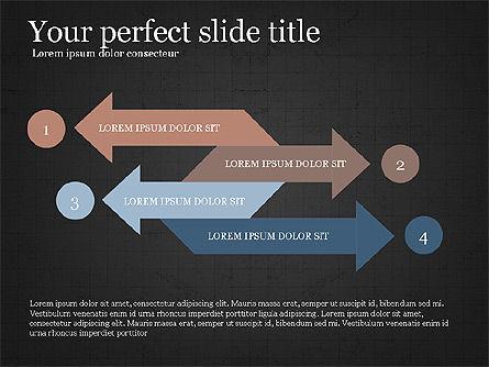 Process Arrows Slide Deck, Slide 10, 03977, Process Diagrams — PoweredTemplate.com