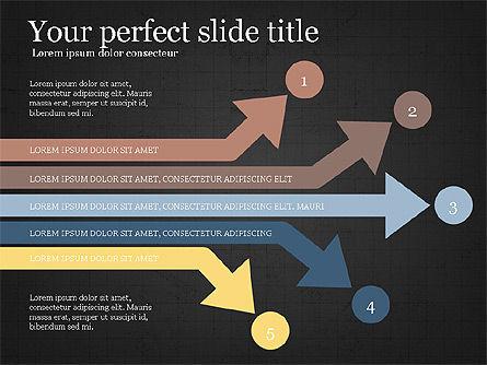 Process Arrows Slide Deck, Slide 11, 03977, Process Diagrams — PoweredTemplate.com