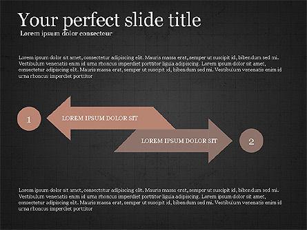 Process Arrows Slide Deck, Slide 13, 03977, Process Diagrams — PoweredTemplate.com
