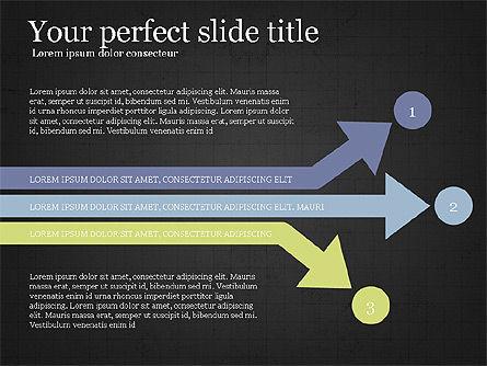 Process Arrows Slide Deck, Slide 15, 03977, Process Diagrams — PoweredTemplate.com