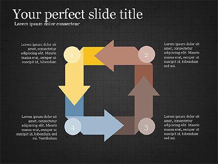 Process Arrows Slide Deck, Slide 16, 03977, Process Diagrams — PoweredTemplate.com