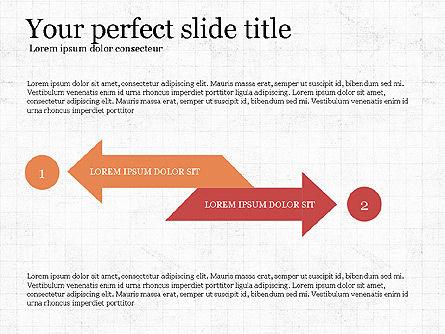 Process Arrows Slide Deck, Slide 5, 03977, Process Diagrams — PoweredTemplate.com
