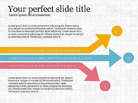 Process Arrows Slide Deck, Slide 7, 03977, Process Diagrams — PoweredTemplate.com