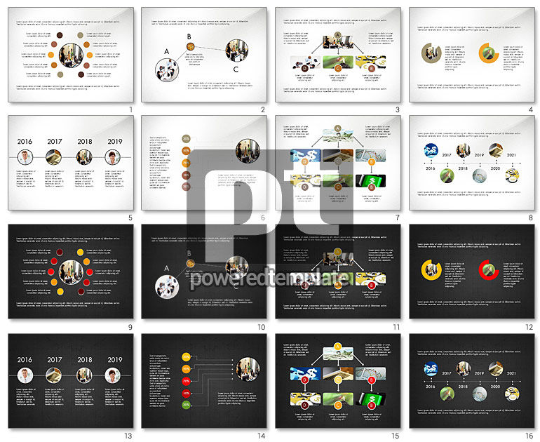 Minimalistic Project Presentation Concept