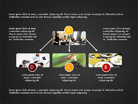 Minimalistic Project Presentation Concept, Slide 11, 03978, Presentation Templates — PoweredTemplate.com