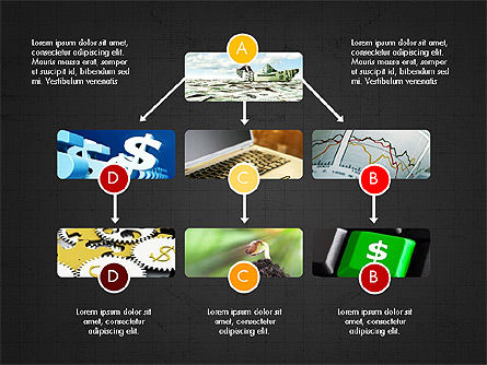 Minimalistic Project Presentation Concept, Slide 15, 03978, Presentation Templates — PoweredTemplate.com