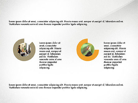 Minimalistic Project Presentation Concept, Slide 4, 03978, Presentation Templates — PoweredTemplate.com