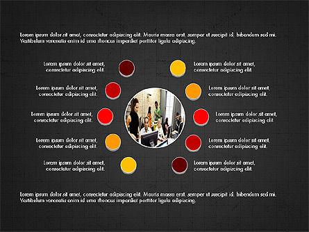 Minimalistic Project Presentation Concept, Slide 9, 03978, Presentation Templates — PoweredTemplate.com