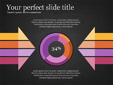 Donut Infographics Concept, Slide 10, 03979, Infographics — PoweredTemplate.com