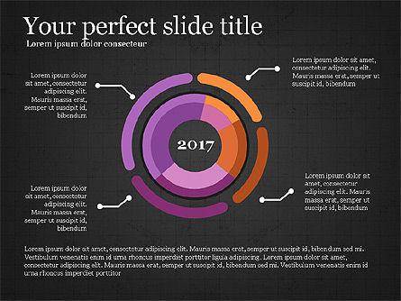 Donut Infographics Concept, Slide 11, 03979, Infographics — PoweredTemplate.com