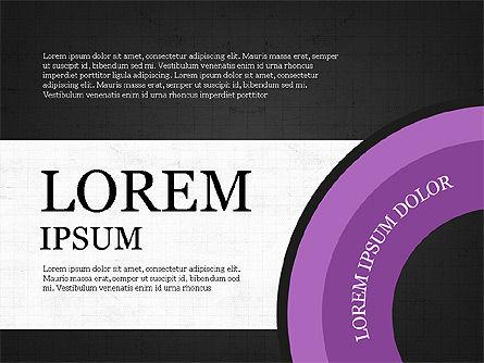 Donut Infographics Concept, Slide 13, 03979, Infographics — PoweredTemplate.com