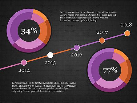 Donut Infographics Concept, Slide 14, 03979, Infographics — PoweredTemplate.com