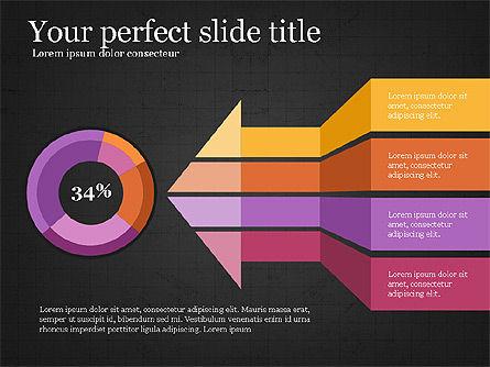 Donut Infographics Concept, Slide 15, 03979, Infographics — PoweredTemplate.com