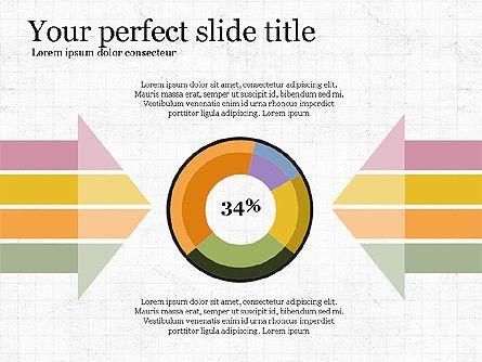 Donut Infographics Concept, Slide 2, 03979, Infographics — PoweredTemplate.com