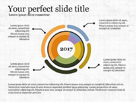 Donut Infographics Concept, Slide 3, 03979, Infographics — PoweredTemplate.com