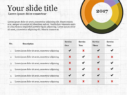 Donut Infographics Concept, Slide 4, 03979, Infographics — PoweredTemplate.com