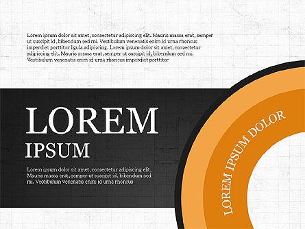 Donut Infographics Concept, Slide 5, 03979, Infographics — PoweredTemplate.com