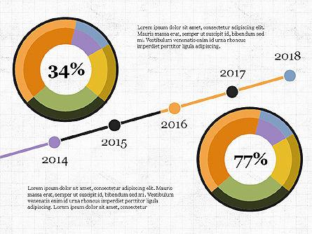 Donut Infographics Concept, Slide 6, 03979, Infographics — PoweredTemplate.com