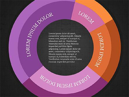 Donut Infographics Concept, Slide 9, 03979, Infographics — PoweredTemplate.com