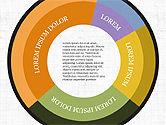 Infographics: Concept d'infographie de Donut #03979