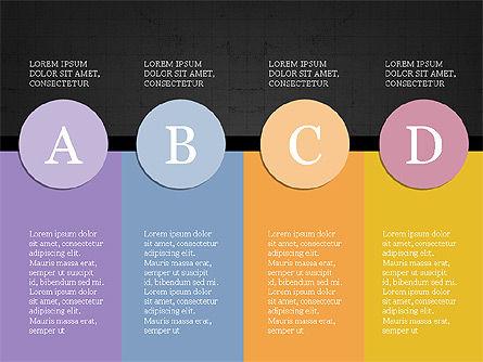 Year Summary Presentation Template, Slide 11, 03981, Presentation Templates — PoweredTemplate.com