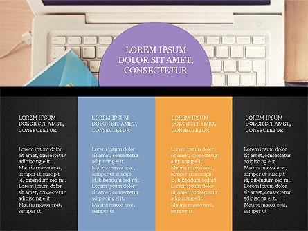 Year Summary Presentation Template, Slide 16, 03981, Presentation Templates — PoweredTemplate.com