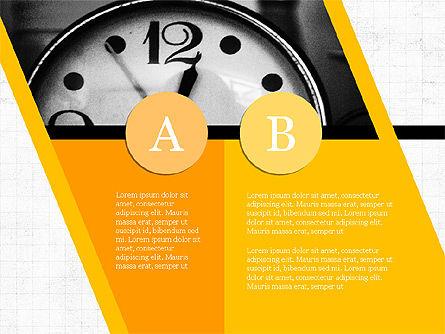 Year Summary Presentation Template, Slide 7, 03981, Presentation Templates — PoweredTemplate.com