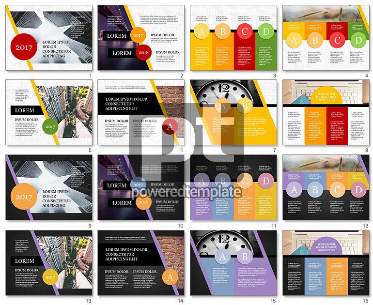 Year Summary Presentation Template