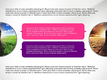 Presentation Templates: Circles and Texts Presentation Concept #03983