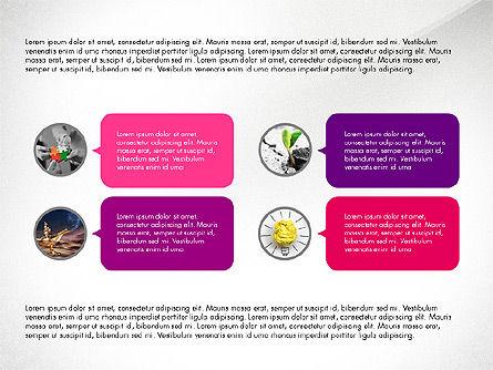 Circles and Texts Presentation Concept, Slide 8, 03983, Presentation Templates — PoweredTemplate.com