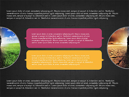 Circles and Texts Presentation Concept, Slide 9, 03983, Presentation Templates — PoweredTemplate.com