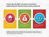 Icons: Konsep Presentasi Desain Datar Dengan Ikon #03985