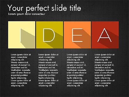 Creative Titles Presentation Concept, Slide 10, 03988, Presentation Templates — PoweredTemplate.com