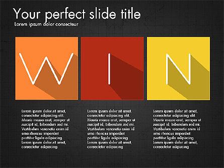 Creative Titles Presentation Concept, Slide 16, 03988, Presentation Templates — PoweredTemplate.com