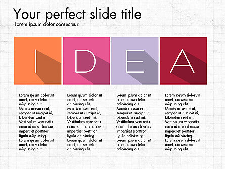 Creative Titles Presentation Concept, Slide 2, 03988, Presentation Templates — PoweredTemplate.com