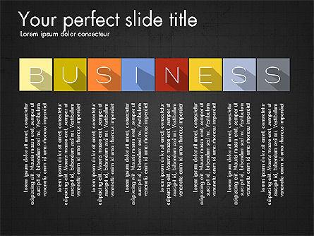 Creative Titles Presentation Concept, Slide 9, 03988, Presentation Templates — PoweredTemplate.com