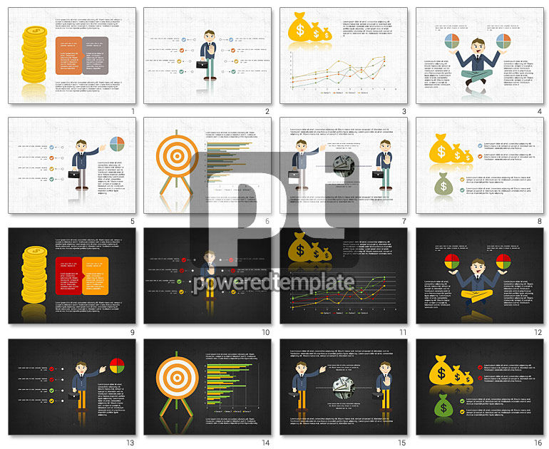Financial Analysis Presentation Template for PowerPoint – Financial Analysis Template