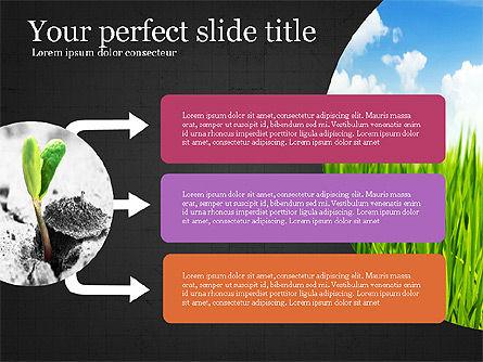 Startup Process Presentation Concept, Slide 10, 03991, Presentation Templates — PoweredTemplate.com
