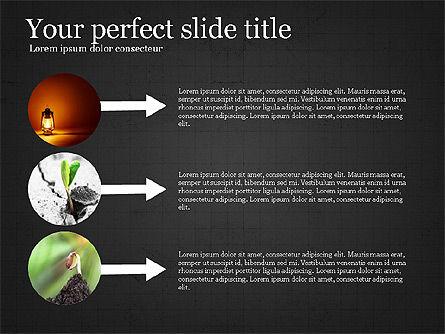 Startup Process Presentation Concept, Slide 12, 03991, Presentation Templates — PoweredTemplate.com