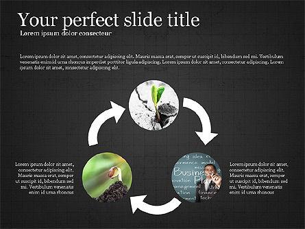 Startup Process Presentation Concept, Slide 14, 03991, Presentation Templates — PoweredTemplate.com