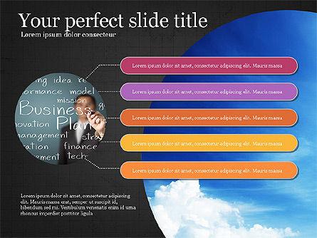Startup Process Presentation Concept, Slide 15, 03991, Presentation Templates — PoweredTemplate.com