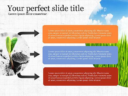 Startup Process Presentation Concept, Slide 2, 03991, Presentation Templates — PoweredTemplate.com