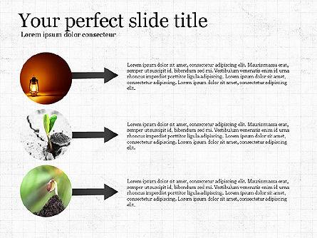 Startup Process Presentation Concept, Slide 4, 03991, Presentation Templates — PoweredTemplate.com