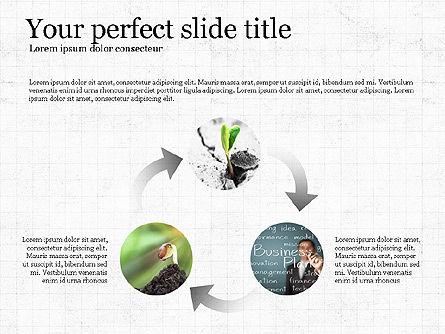 Startup Process Presentation Concept, Slide 6, 03991, Presentation Templates — PoweredTemplate.com